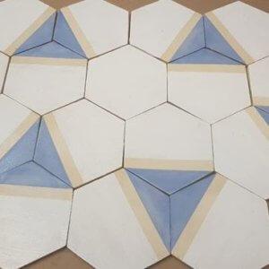 Mozaika Heksagon