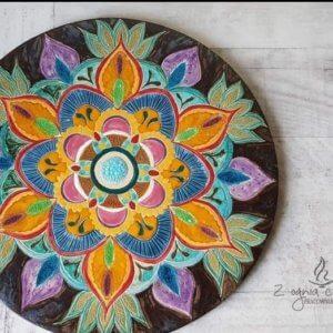 Dekor ceramiczny Mandala