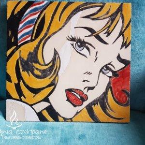 Dekor ceramiczny Pop-art 1