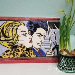 Dekor ceramiczny Pop-art 2