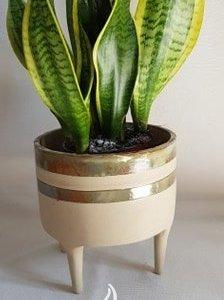 Doniczka ceramiczna – osłonka na nogach rozmiar S
