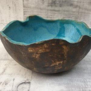 Misa ceramiczna błękitna by Sara Bul